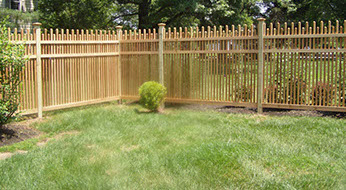 Handmade Wood Fence